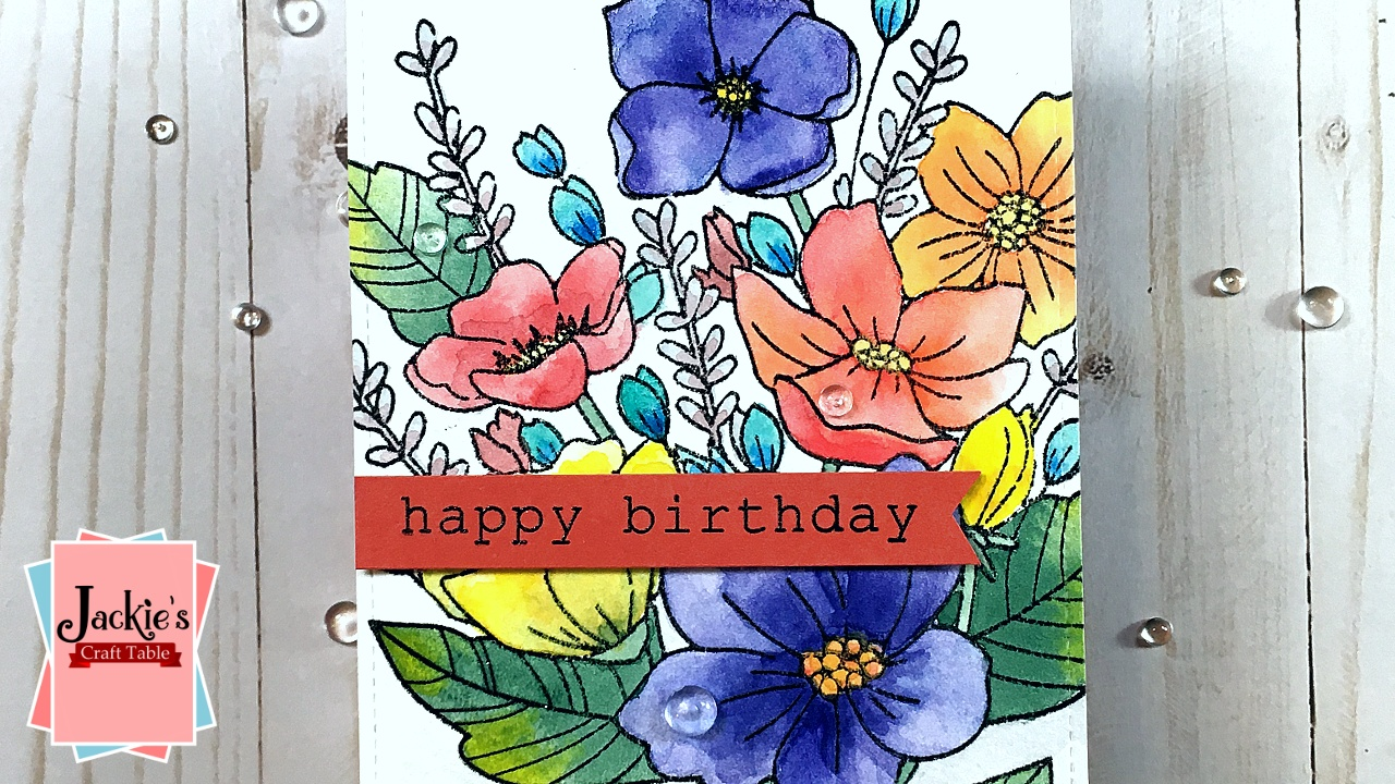 2019 Arteza Pan Watercolors Card THUMB